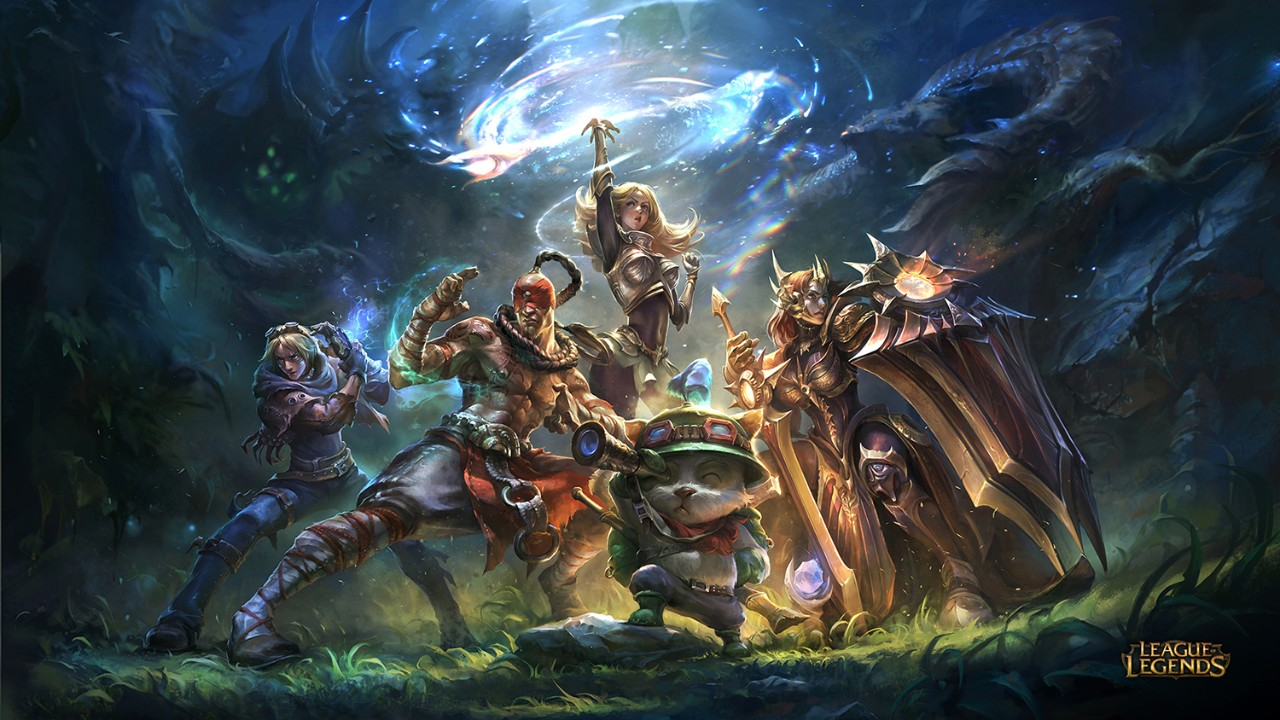 League of Legends game artwork