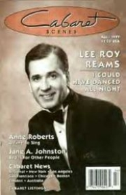 Lee Roy on the cover of Cabaret magazine.