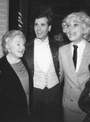 Lee Roy lined up with Helen Hayes and Carol Channing.