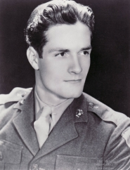 Hugh in his Marine uniform