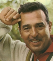 A middle-aged and handsome Tennessee Ernie Ford.
