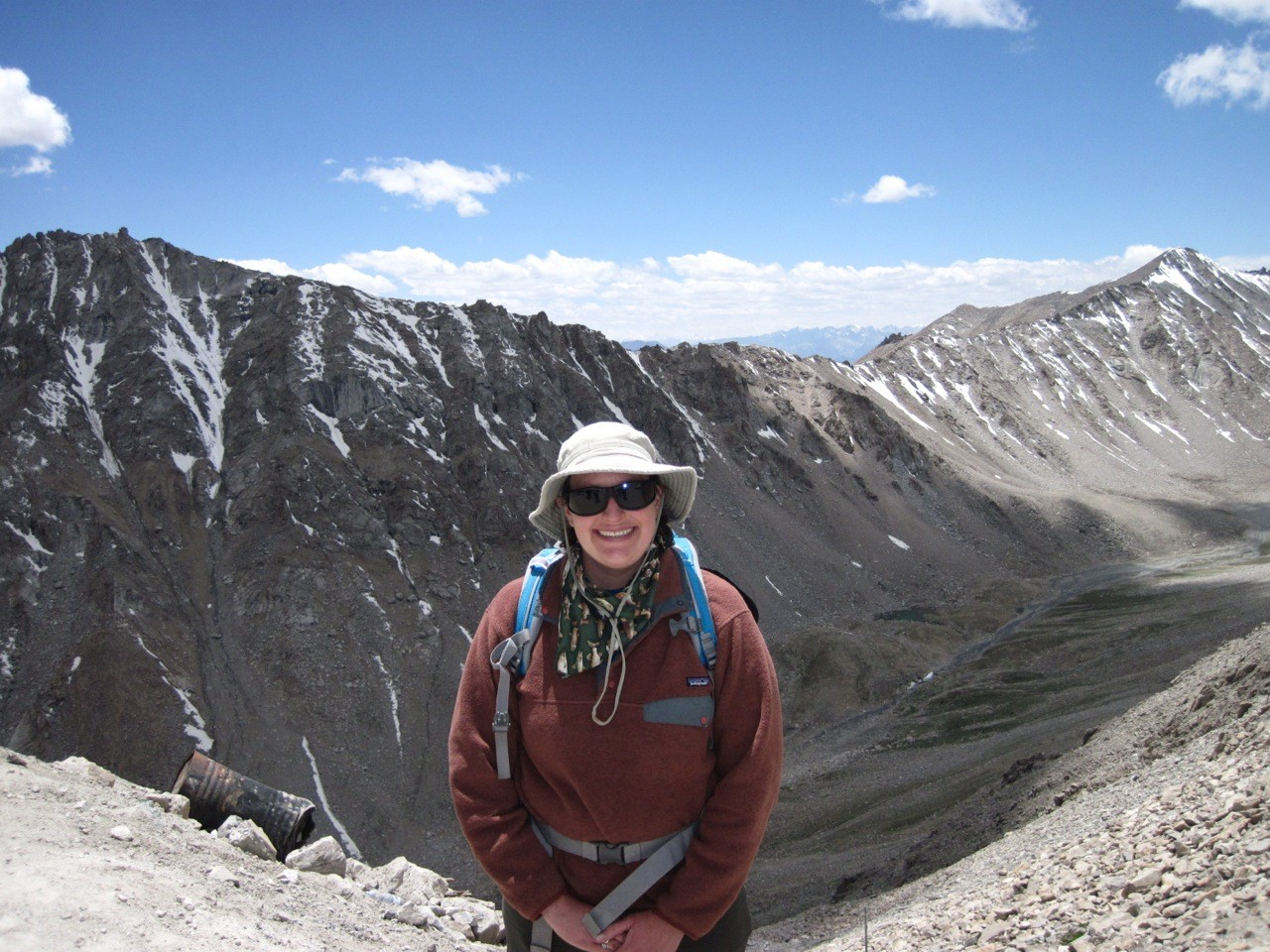 UC assistant professor Brooke Crowley has traveled the world as a geologist and anthropologist.