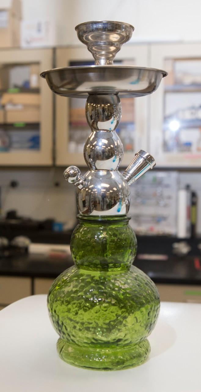 A hookah pipe.