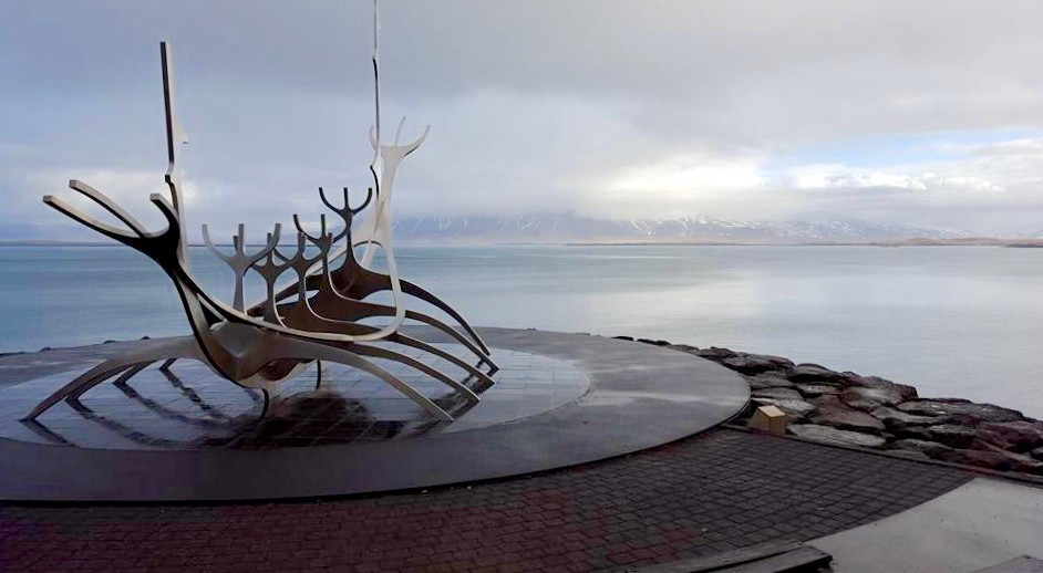 Sun Voyager statue in Iceland, an ode to the sun.photo/Kara Detty