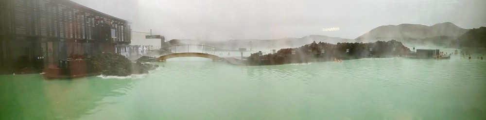 The Blue Lagoon, one of Iceland's geothermal pools.photo/Kara Detty