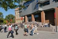 A photo of the beautiful campus of the University of Cincinnati