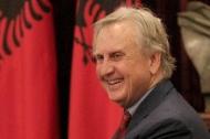 A smiling University of Cincinnati professor Jack Davis