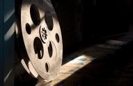 A reel of movie film