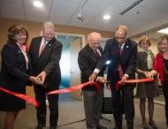 UC officials cut ribbon to new staff success center