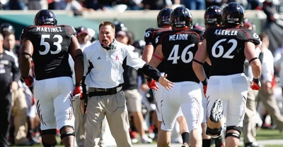 Coach Butch Jones resigned as UC's head football coach Dec. 7, 2012, after three seasons leading the Bearcats.