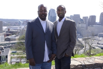 Eku Williams (right) and Juma Parham are the creators of Jooku.