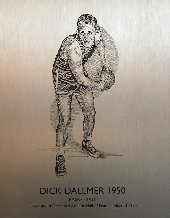 Dick Dallmer, UC basketball player, 1950
