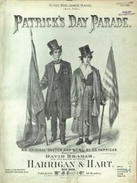Irish music cover called Patrick's Day Parade