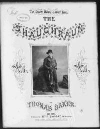 Irish music cover called The Shaughraun