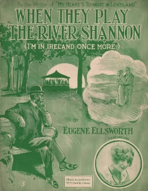 Irish music cover of When They Played the River shannon