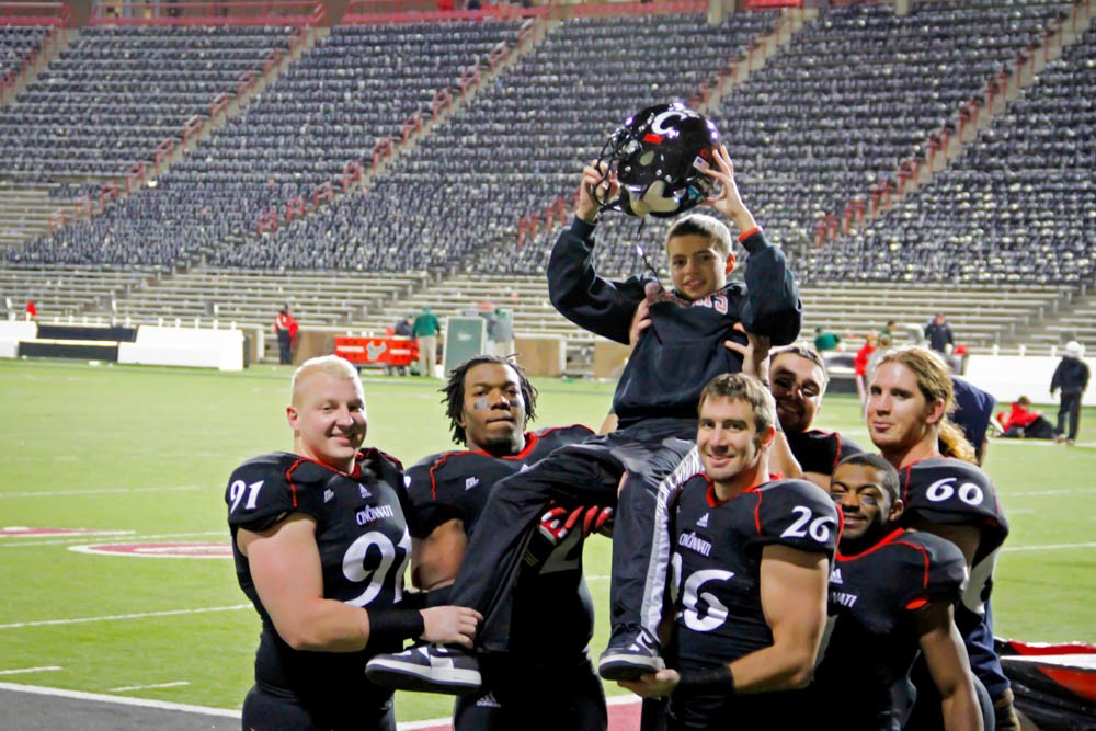 The Bearcats would go on to an undefeated season with Mitch Stone by their side in 2009.