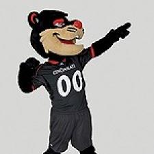 UC's Bearcat mascot
