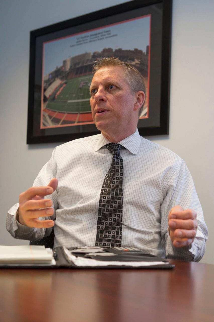 Joe Harrell, vice president of UC Facilities Management