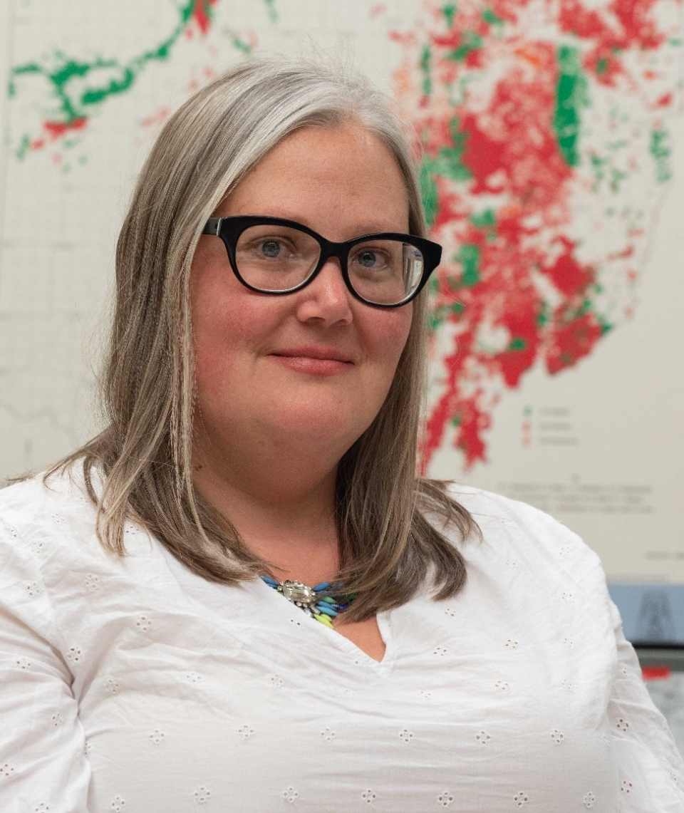 UC geology professor Amy Townsend-Small