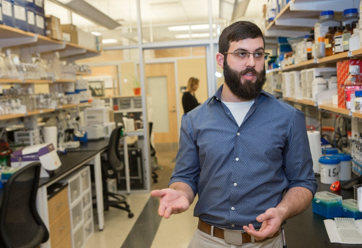 UC graduate student Christopher Holmes said research into the feeding habits of mosquitoes could help researchers find ways to prevent mosquito-borne illness.