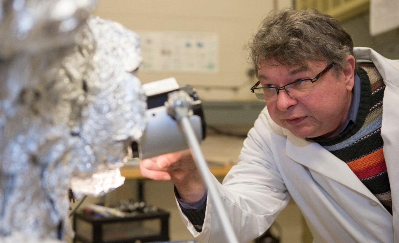 UC physicists such as Associate Professor Hans-Peter Wagner are exploring nanowire semiconductors to harness the power of light at the nano level.