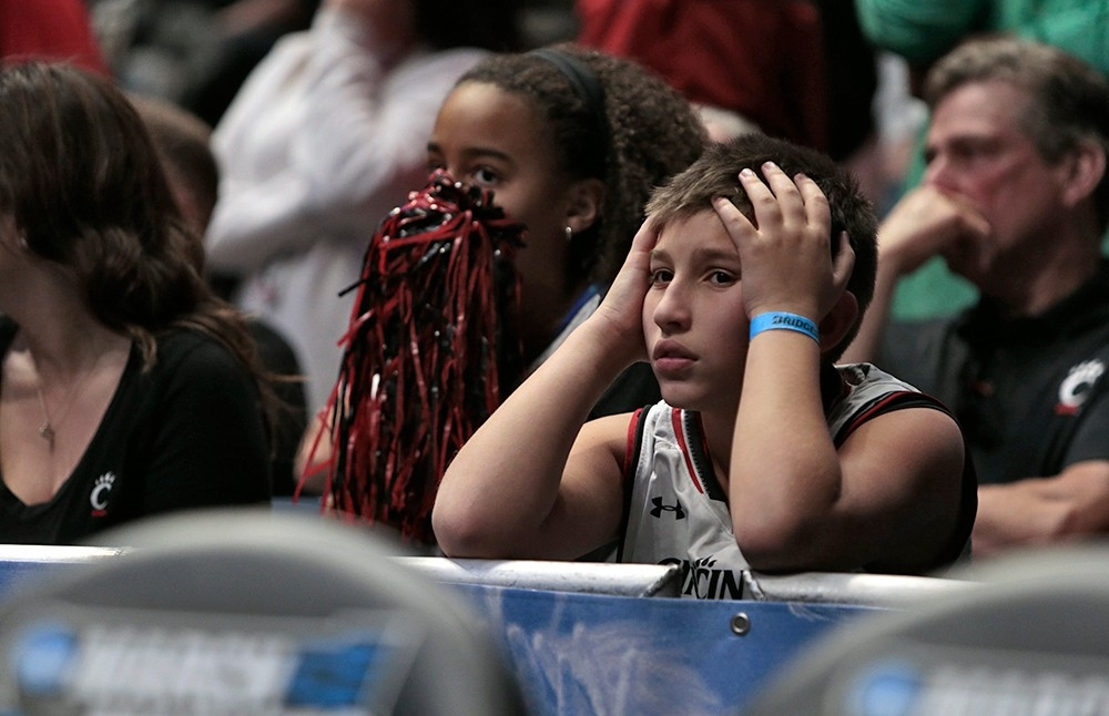 A sad, young Cincinnati fan