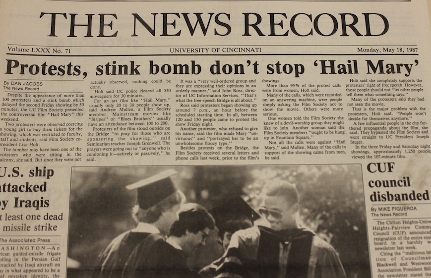 News Record from May of 1987