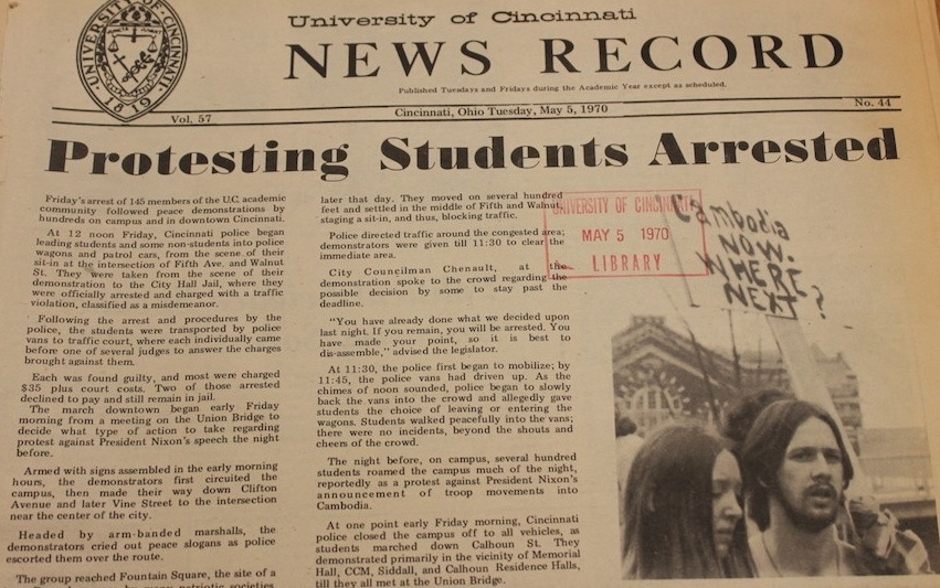 News Record from May 5, 1970