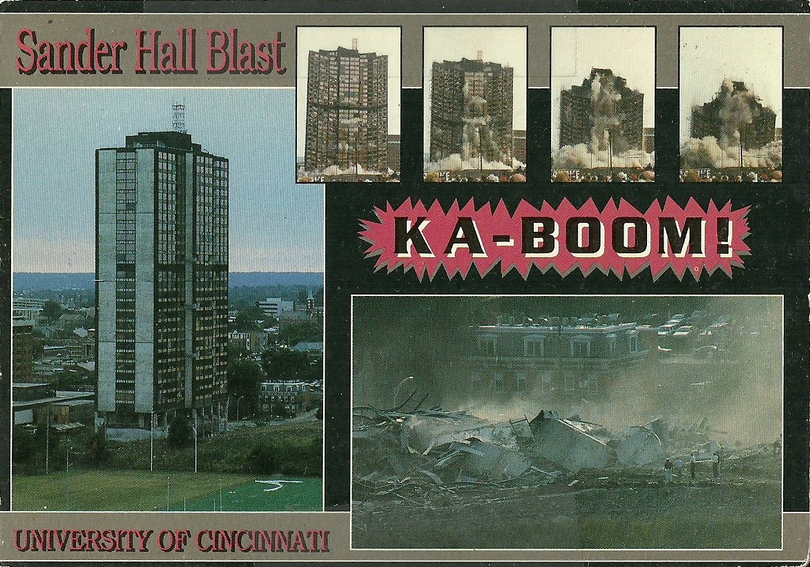 A postcard marks the historic day at UC.