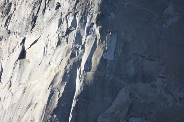 UC graduate Kevin Wagner climbed El Capitan in Yosemite National Park.