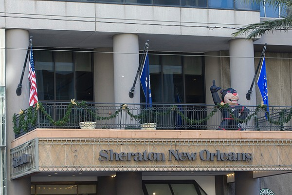Many Bearcats fans stayed at the Sheraton New Orleans, located on Canal Street, close to the French Quarter.