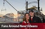 Fans Around New Orleans