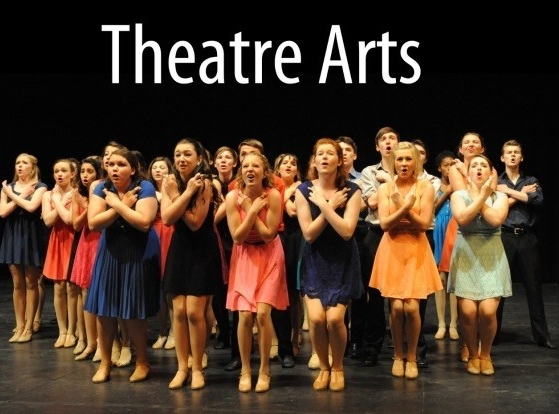 UC CCM summer camp theater arts students perform on stage.