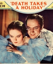 A color movie poster for Death Takes a Holiday.