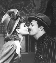 Faith kissed Nathan Lane in Guys and Dolls.