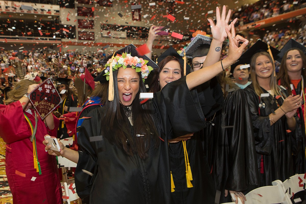 UC Spring 2016 Commencement