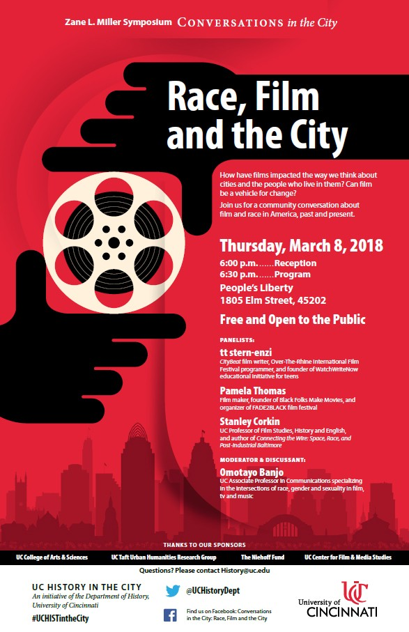 Race, Film and the City flyer