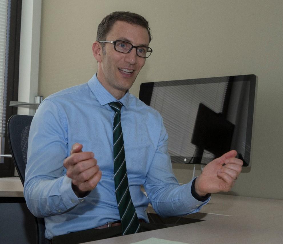 UC professor Jason Heikenfeld.