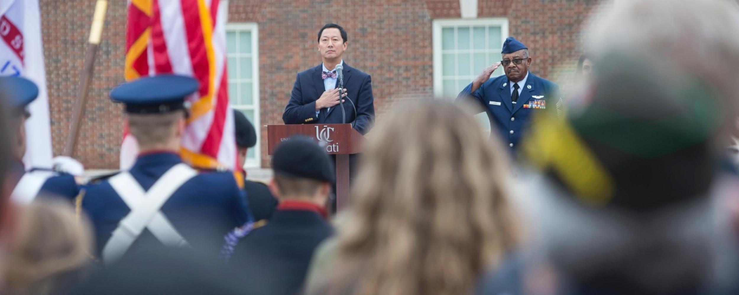 UC Veterans Day Ceremony