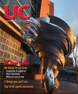 UC Magazine issue takes readers on a tour of campus