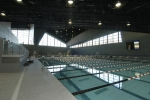 Some of the water features include an Olympic-sized lap pool, a leisure pool, a whirlpool, a water wall and a bubble couch.
