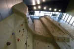Climbing enthusiasts will enjoy the 40-foot climbing wall and bouldering wall.
