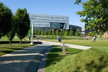 The Campus Recreation Center.