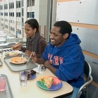 Students dine at MarketPointe.