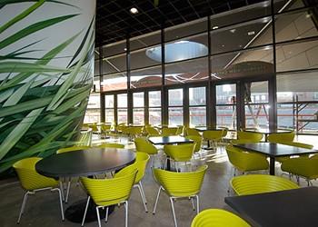 Stadium View Cafe.
