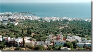 Thirty years ago, the coastal city of Hersonissos was a fishing village with fruit warehouses. Today it is jammed with hotels, shops, restaurants and other services aimed at the tourists who now dominate the region's economy.