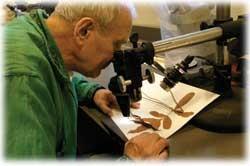 Herbarium and Victor Soukup photo/Dottie Stover