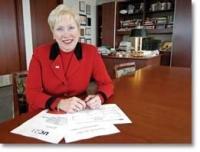 President Nancy Zimpher photo/Lisa Ventre