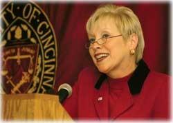 President Nancy Zimpher