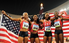 2008 Olympic 400 Meter team from USA